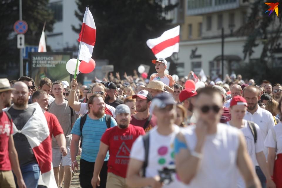 Белорусские атлеты продолжают высказываться о ситуации в нашей стране.