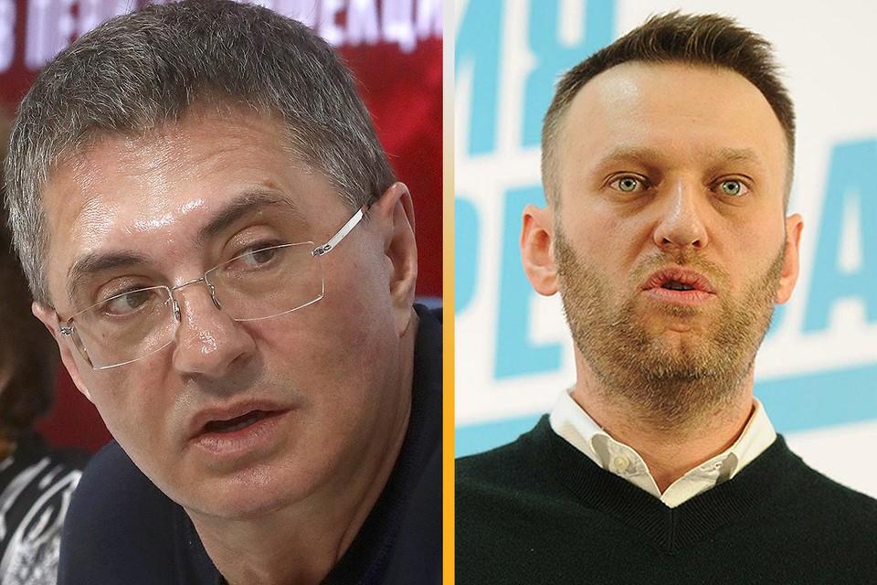 Доктор Александр Мясников прокомментировал госпитализацию Алексея Навального. Фото: Сергей Фадеичев/ТАСС + GLOBAL LOOK PRESS