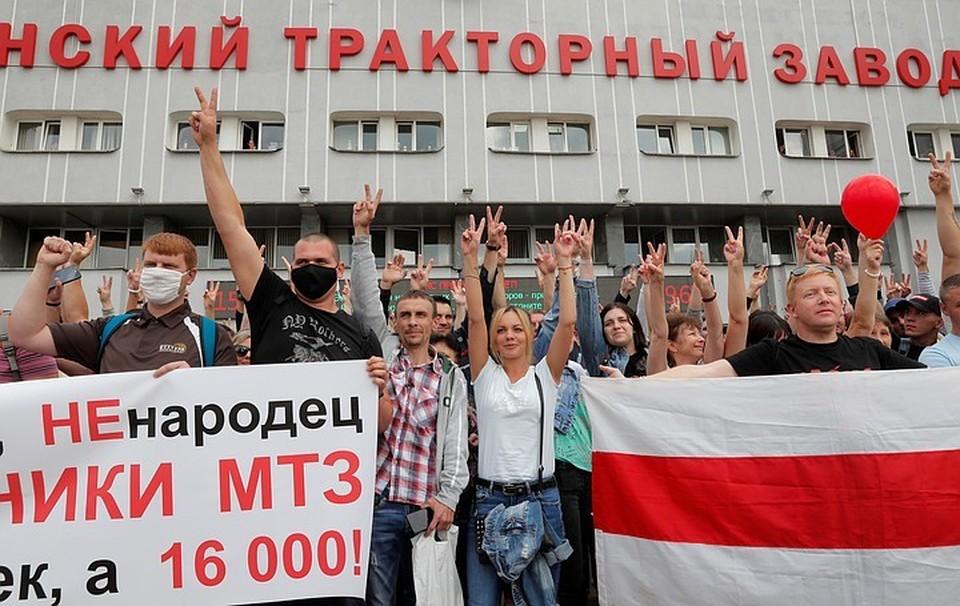 Какие именно заводы могут закрыть в Белоруссии «с понедельника» - спрогнозировать просто невозможно