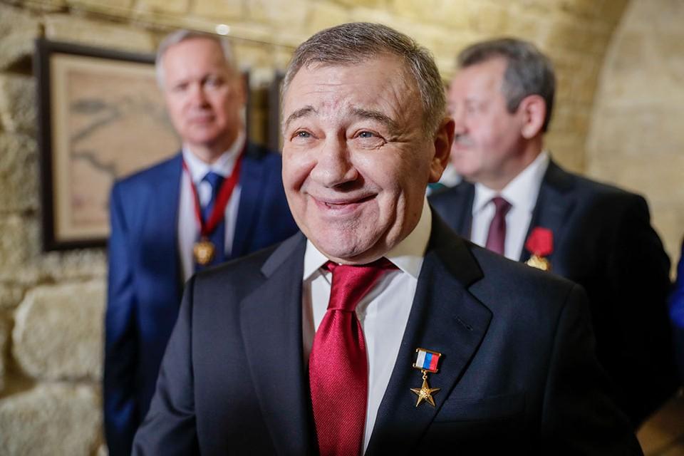 Аркадий Ротенберг. Фото: Михаил Метцель/ТАСС