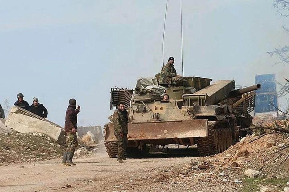 Авиация РФ в Сирии разгромила боевиков, причастных к убийству российского генерала