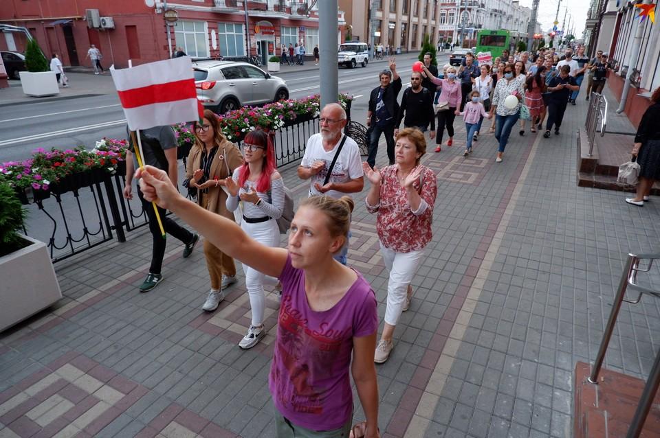 В Гомеле 25 августа прошло шествие