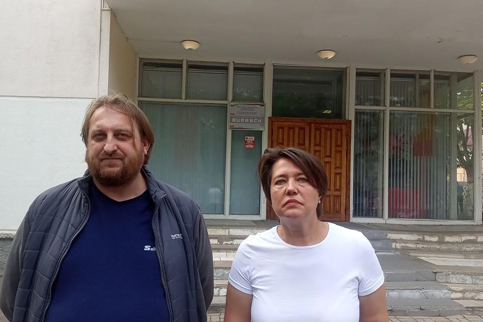 """Двое сотрудников ТРК """"Витебск"""" объявили забастовку, а потом уволились с государственного телевидения."""