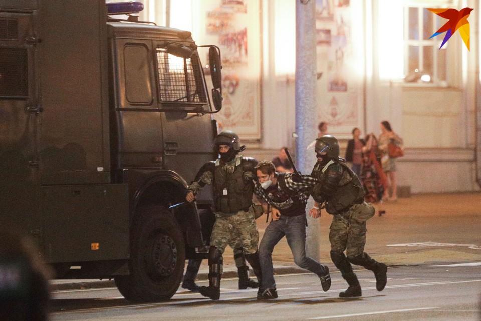 """Романа задержали недалеко от метро """"Немига"""" - он шел по набережной. Фото иллюстративное"""