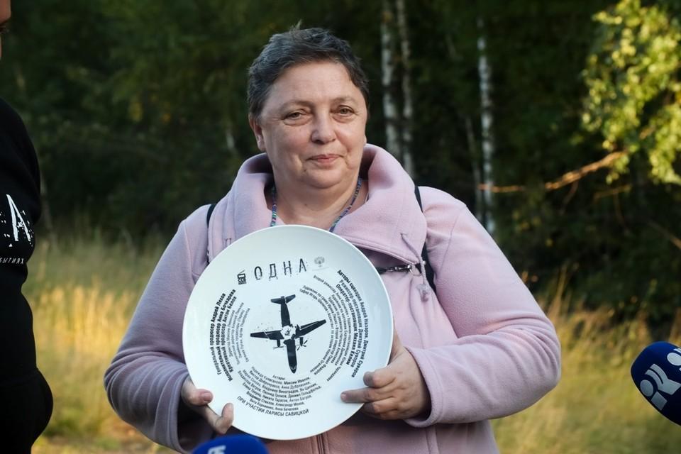 Единственная выжившая пассажирка Лариса Савицкая прилетела на съемки фильма, рассказывающего об ее истории