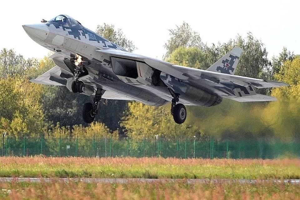 Новейшие Су-57 накроют чехлы-невидимки