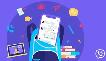 Viber создал видео о функциях родительских чатов в мессенджере