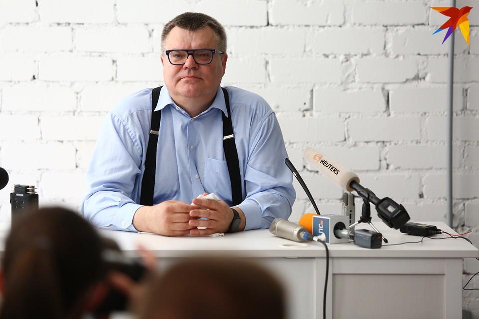 Виктор Бабарико и координатор его штаба Мария Колесникова заявили о создании партии «Вместе».