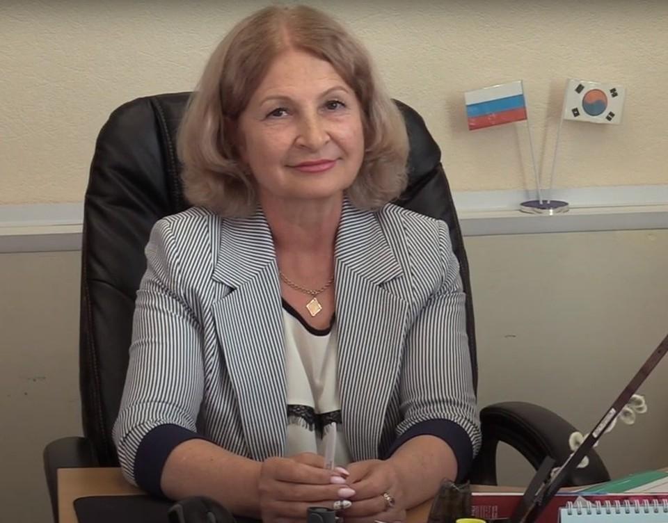 Председатель Собрания депутатов Советско-гаванского муниципального района Лариса Лисова.