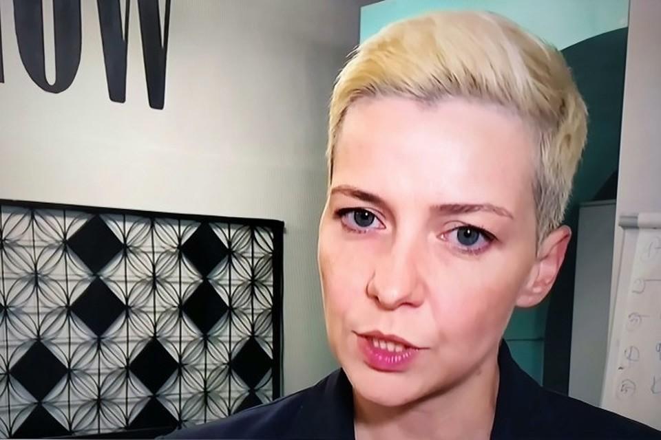 Мария Колесникова не пересекала границу Украины