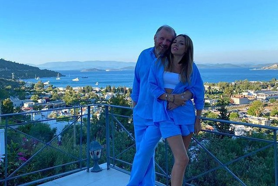 Константин Ивлев и его невеста Лера Куденкова Фото: instagram.com/lera_kudenkova