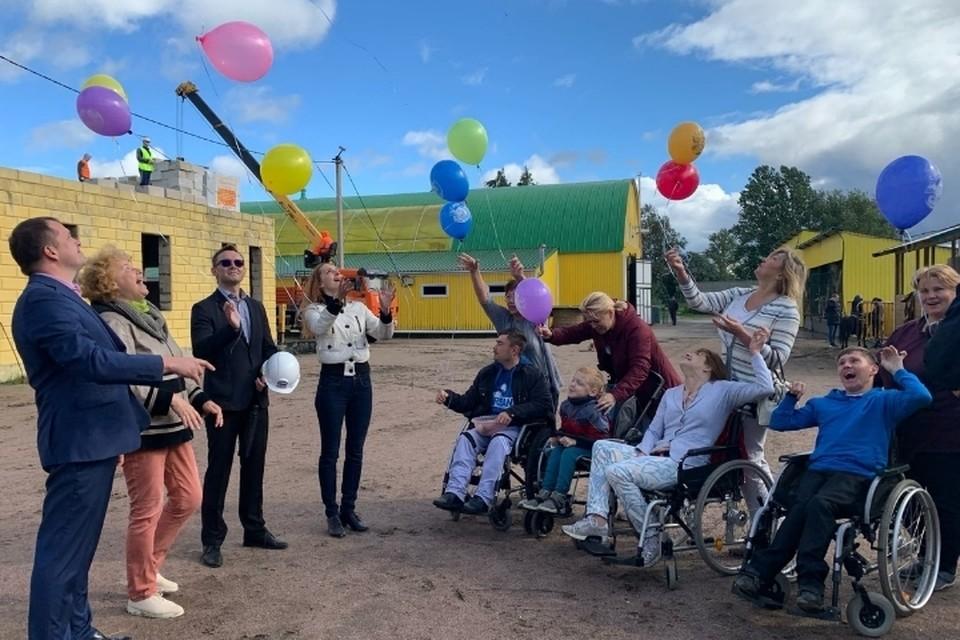 """В Ломоносовском районе Ленобласти началось строительство реабилитационного центра для детей-инвалидов. Фото: предоставлено """"КП"""""""