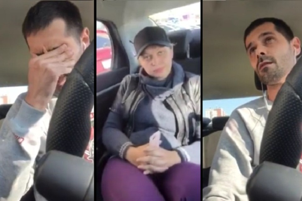 Чем закончилась история между таксистом и многодетной матерью в Тюмени? Фото: коллаж