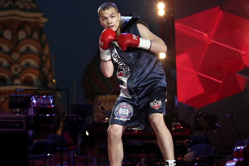 Фёдор Чудинов сумел отстоять чемпионский титул WBA Gold. Фото: Валерий Шарифулин/ТАСС