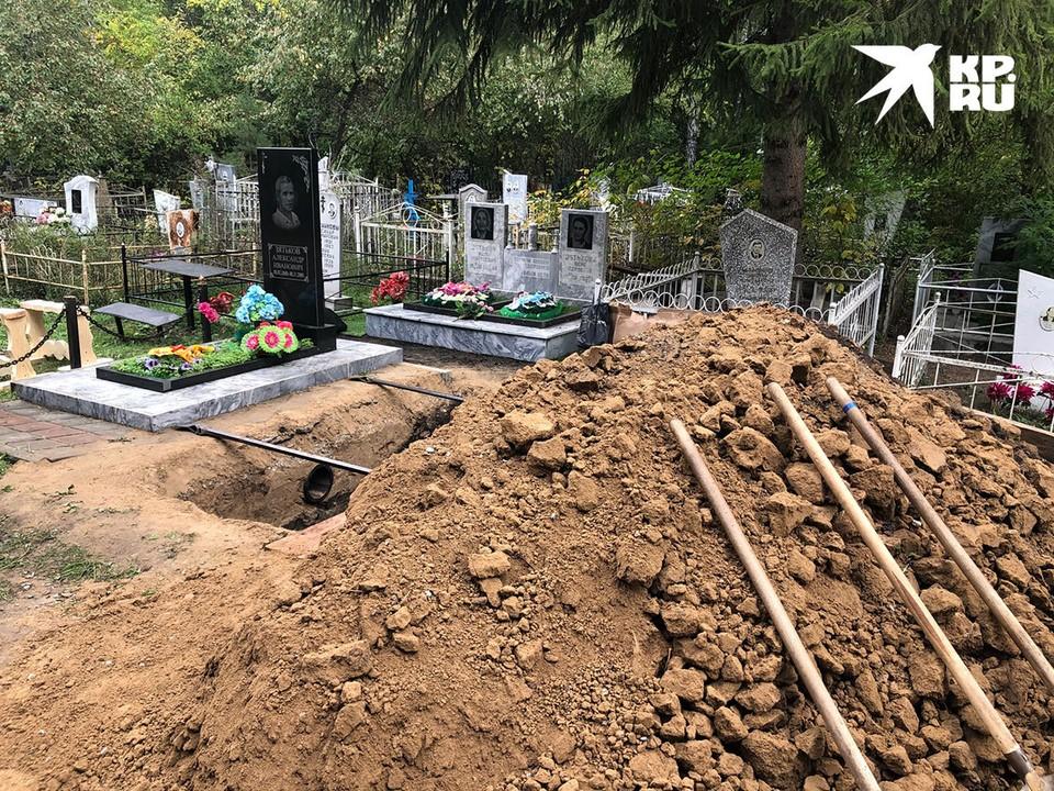 «Зятька» похоронят на городском кладбище в Ишиме