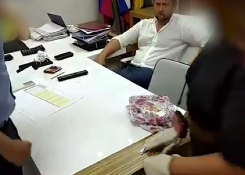 Кандидата в депутаты поймали, по версии следствия, на сделке с мэрией Новороссийска. Фото: СК РФ