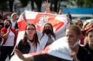 Марш протеста в Минске сходил в гости к Лукашенко
