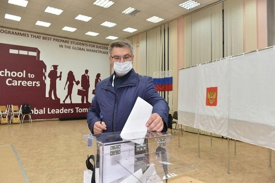 На заседании Избиркома принято решение признать голосование в Пермском крае состоявшимся и действительным с явкой избирателей 35,72%.