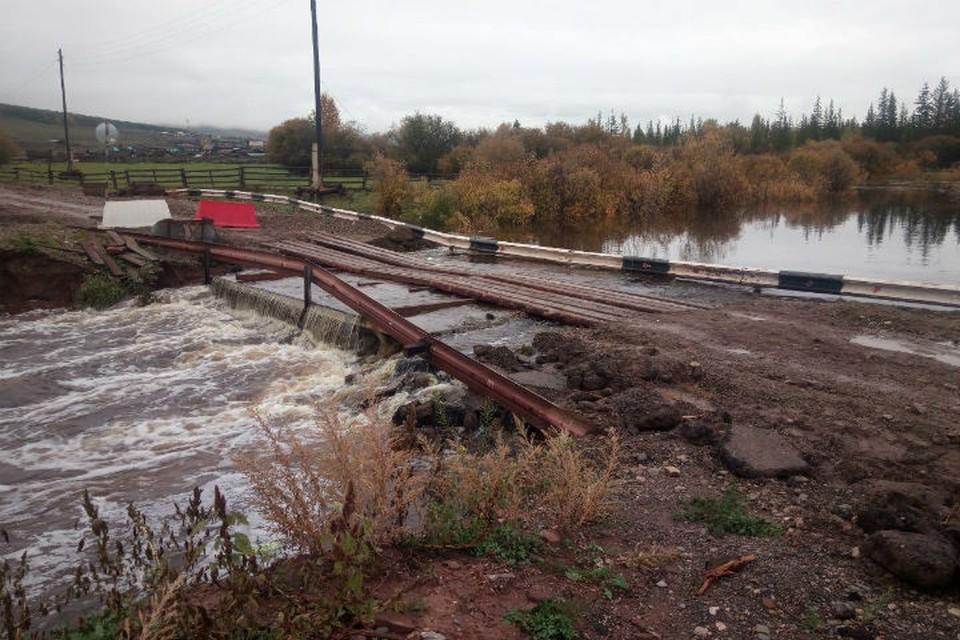 Повышение уровня рек прогнозируется в Иркутской области 17 сентября