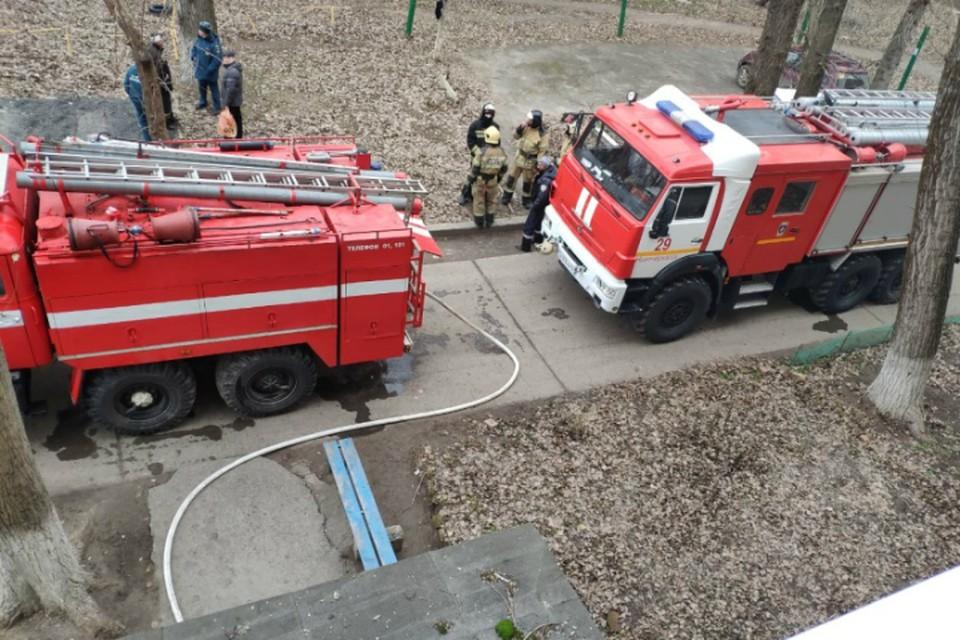 В Ростовской области пожарные потушили масштабный ландшафтный пожар
