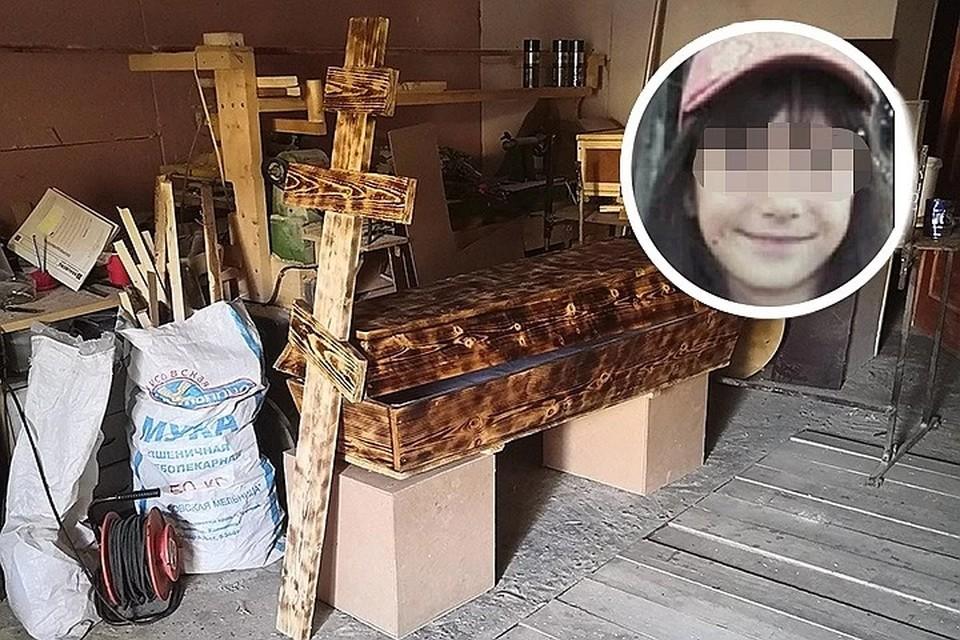 Гроб, в котором похоронят 10-летнюю убитую девочку, сделал своими руками друг семьи.