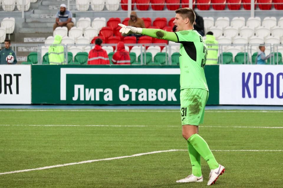Лучший игрок матча Уфа-ЦСКА Александр Беленов эмоционально выразился после поражения