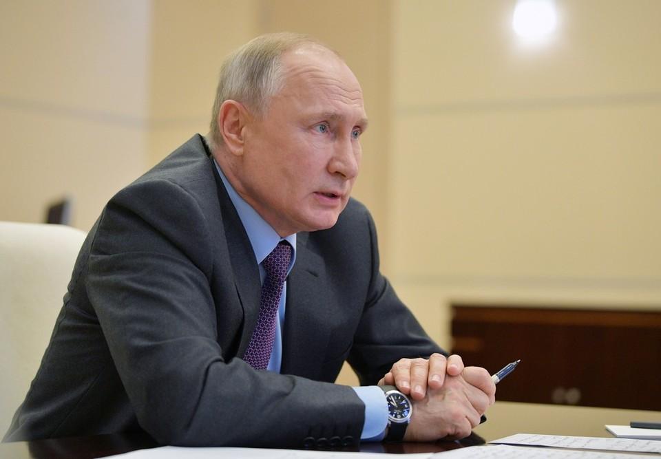 Путин сообщил о роли российских СМИ в патриотическом воспитании молодежи