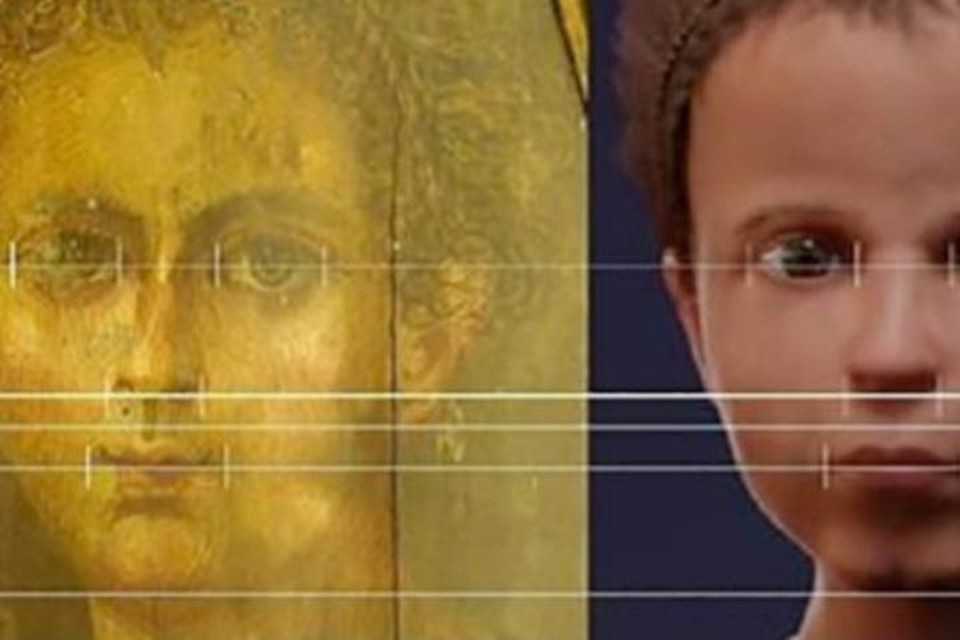 Портрет (слева) и оригинал: сходство очевидно.