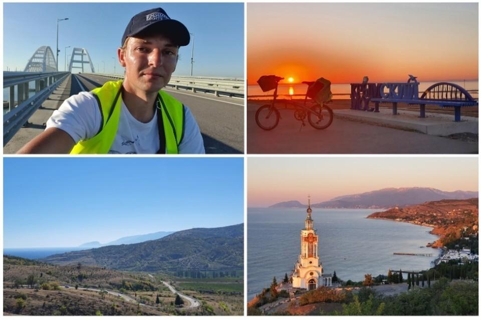 Путешественник проехал 704 километра. Фото: Александр Долгополов/ВК
