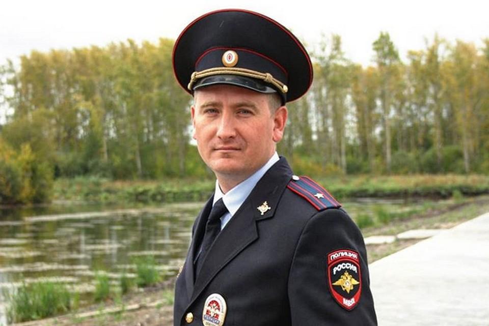 Майор полиции Юрий Вяткин из Кишерти набрал большее количество голосов в первом туре. Фото: ГУ МВД по Пермскому краю.