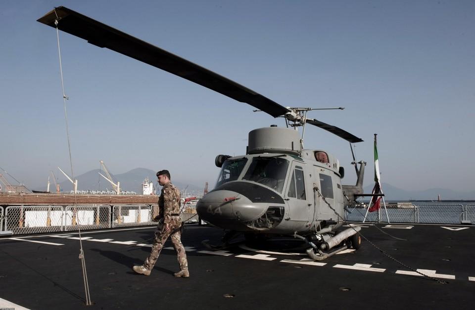 Военный вертолёт ЛНА совершил экстренную посадку в районе города Сукна