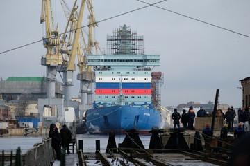 «Вот это мощь!»: новейший российский ледокол «Арктика» восхитил японцев