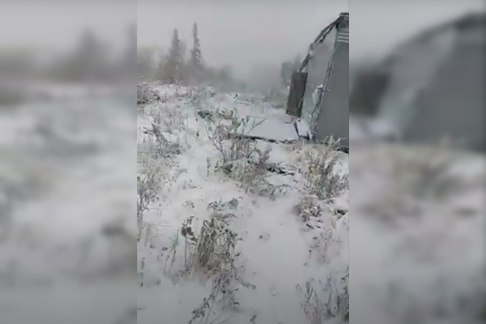 "Юг Кузбасса засыпало снегом. Фото: ""Шерегеш""/ Instagram"