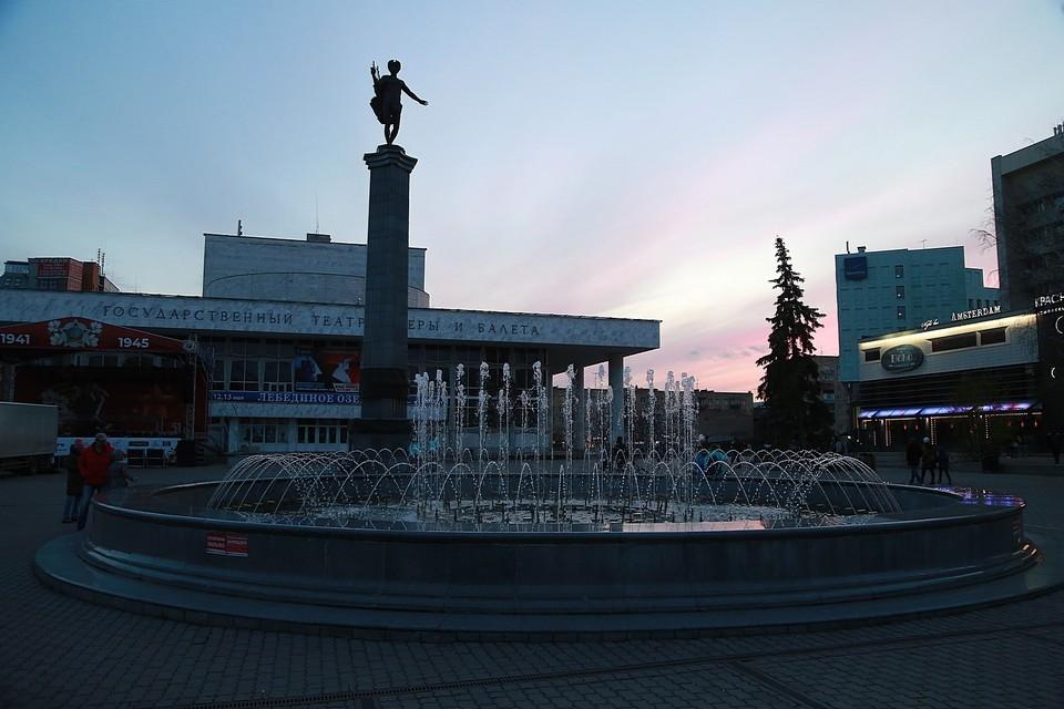 Объявлена дата закрытия сезона фонтанов в Красноярске.