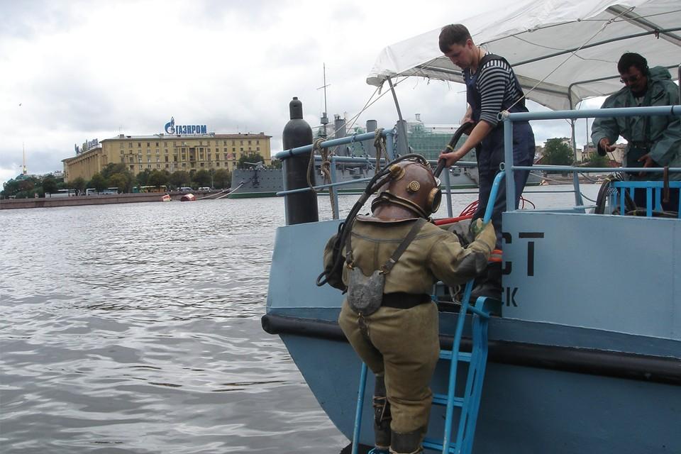 Работы в Неве. Фото: Ростелеком.