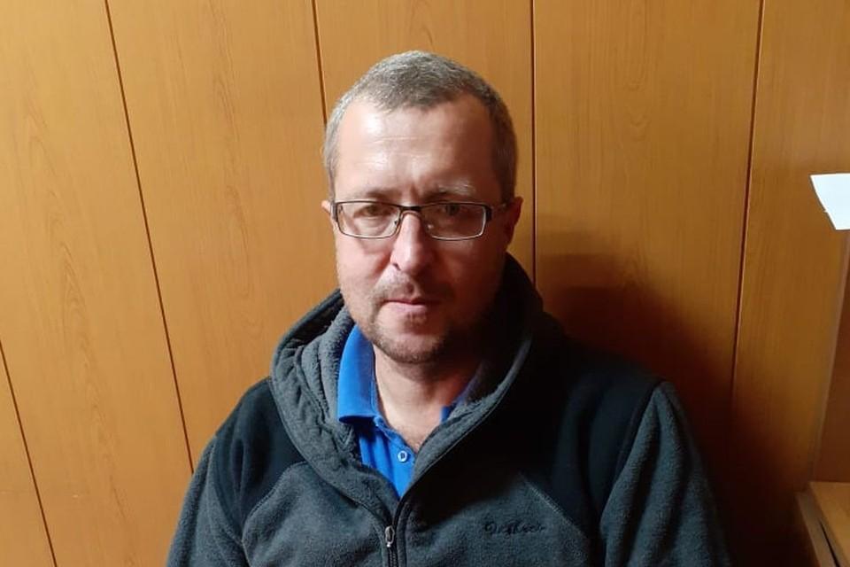 Полиция взяла Дмитрия под охрану. Фото: соцсети.