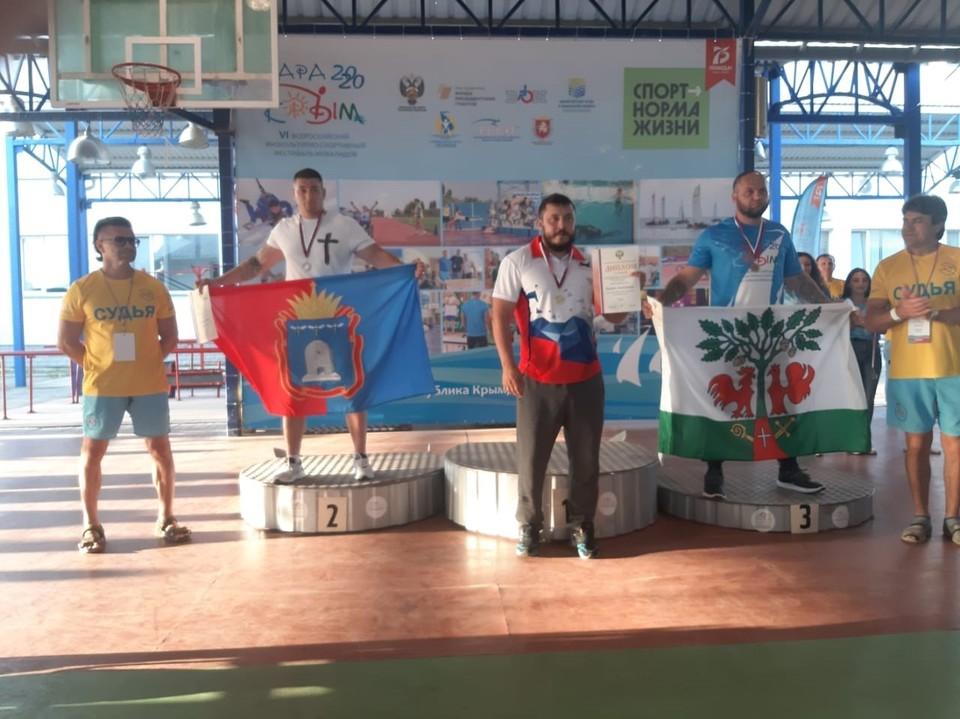 Иван Шеюхин выступил в весовой категории до 97 кг