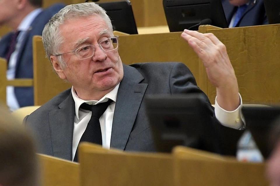 Владимир Жириновский - лидер ЛДПР