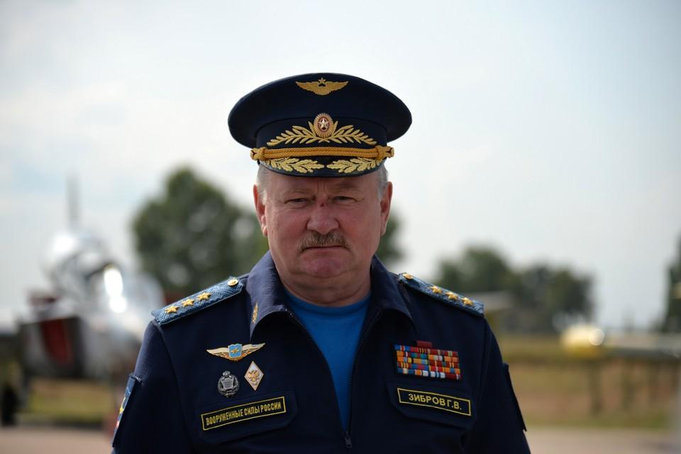 Генерал-полковник Геннадий Зибров. Фото: Кристина Бражникова/ТАСС
