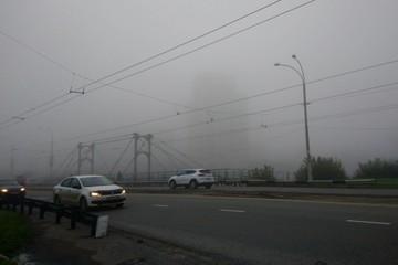 Утром туманным началась последняя неделя сентября в Кузбассе