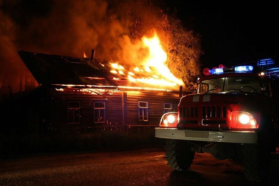 В Тверской области сгорел дачный дом