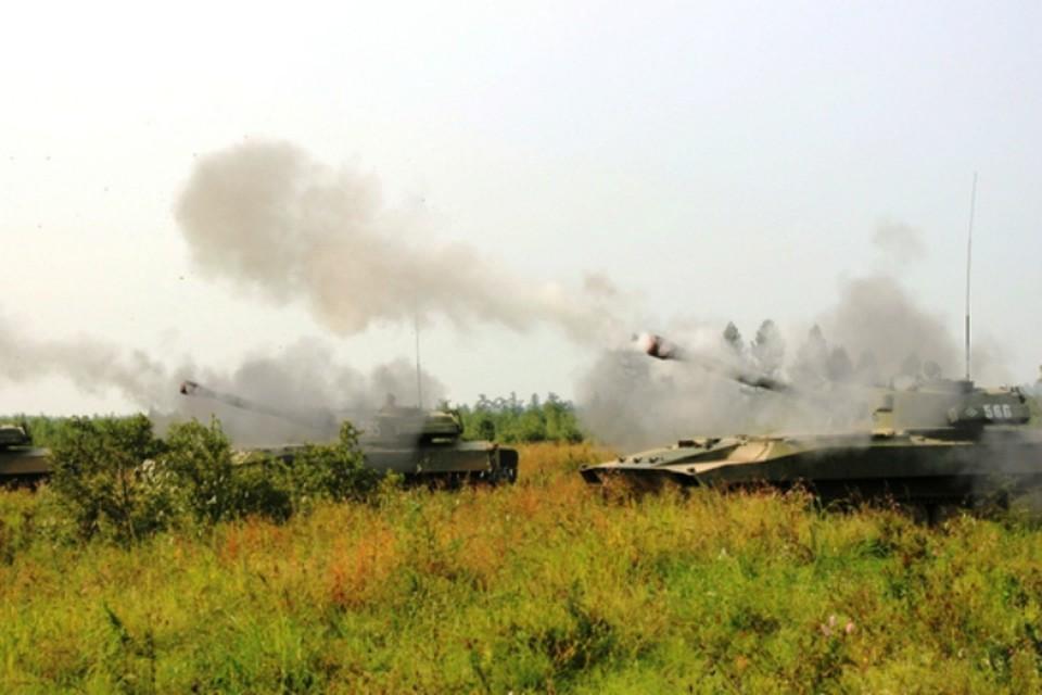 Артиллеристы и танкисты в Хабаровском крае отработали новую обманную тактику