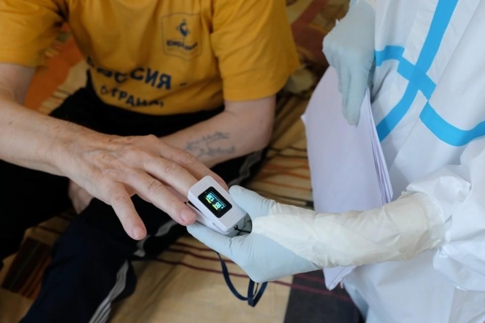 Пациенты с легкой формой COVID-19 лечатся дома