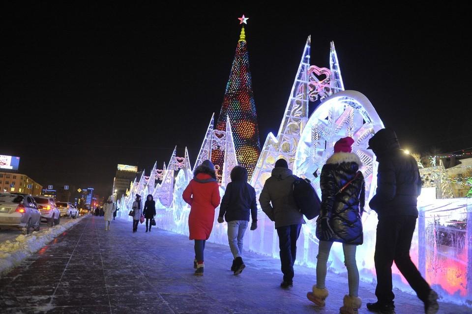 Екатеринбург начал готовиться к строительству главного Ледового городка.