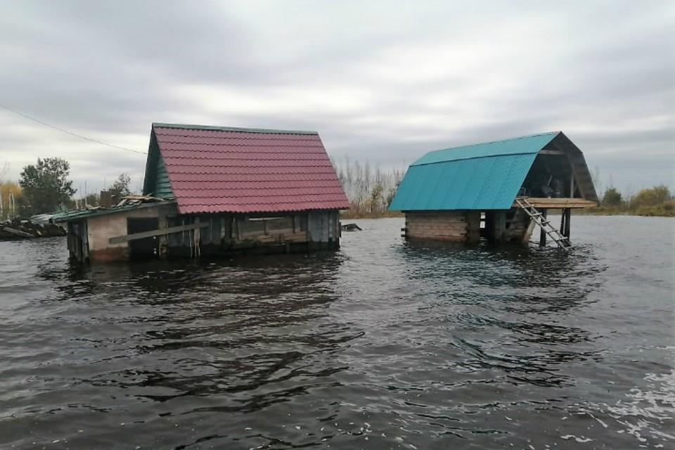 Заповедник Хабаровского края скрылся под большой водой