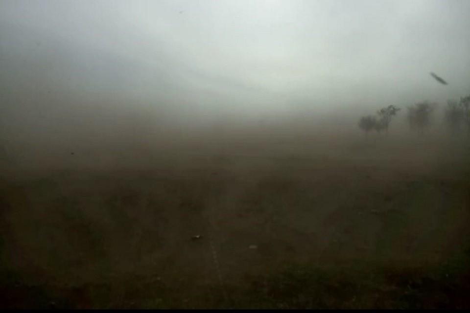 «Не видно ничего»: на Ставрополье обрушилась мощная пылевая буря