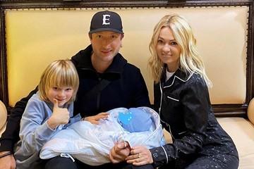 Суррогатная мать родила сына Рудковской и Плющенко