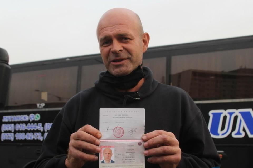 Геннадий Лукашев напомнил, что жители Донбасса всегда считали себя частью большой России. Фото: lug-info.com