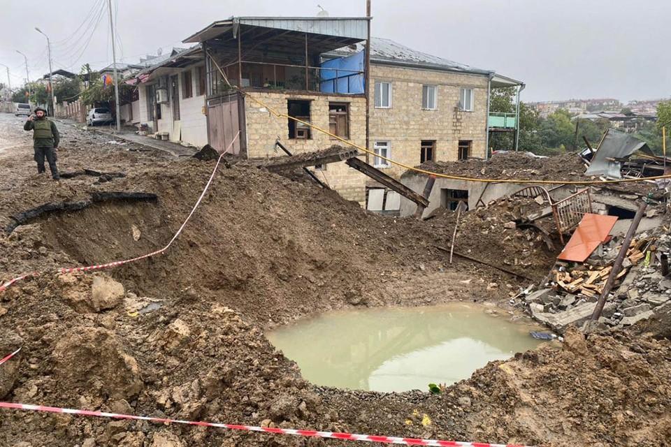 Одной из целей обострения на Южном Кавказе может быть контроль над водохранилищами