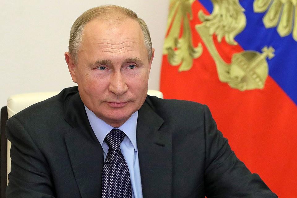 Президент Владимир Путин. Фото: Михаил Климентьев/пресс-служба президента РФ/ТАСС